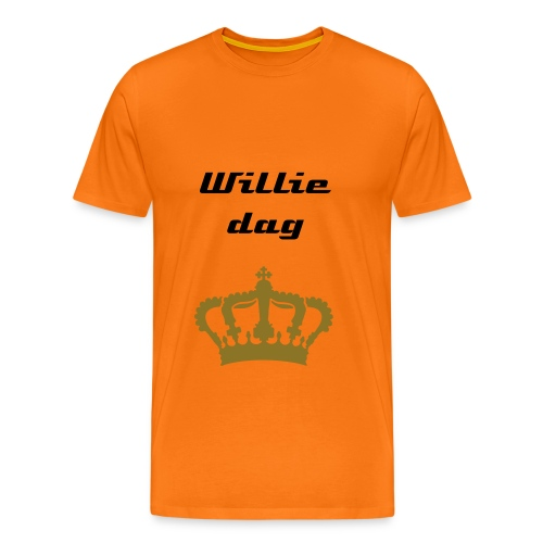 WIllie dag - Mannen Premium T-shirt