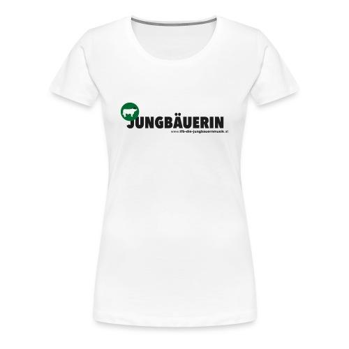 Damen-Shirt Jungbäuerin - Frauen Premium T-Shirt