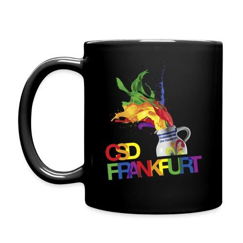 CSD Frankfurt Bembel Tasse - Tasse einfarbig