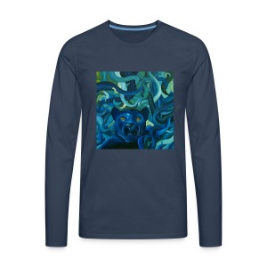 Jack the Panther - Männer Premium Langarmshirt
