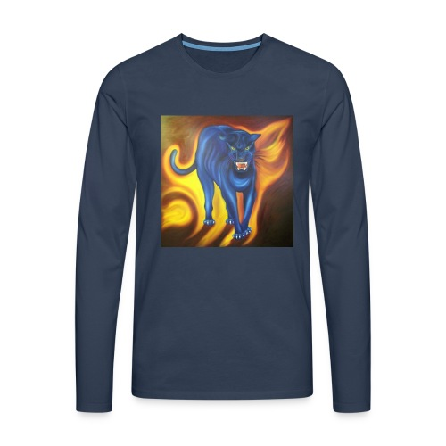 How Panther are you? - Männer Premium Langarmshirt