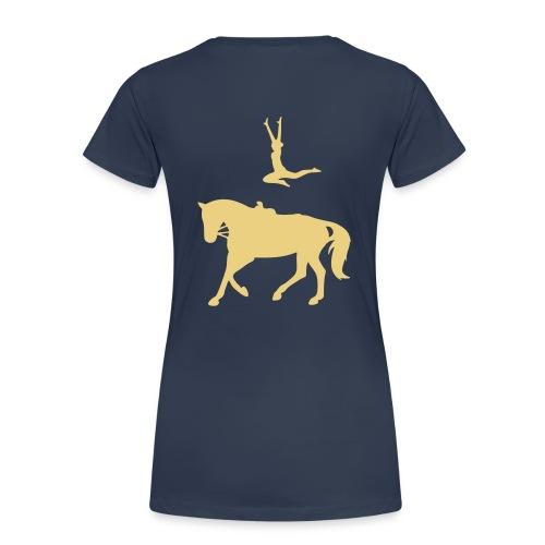 Voltigieren Sprung T-Shirts - Frauen Premium T-Shirt