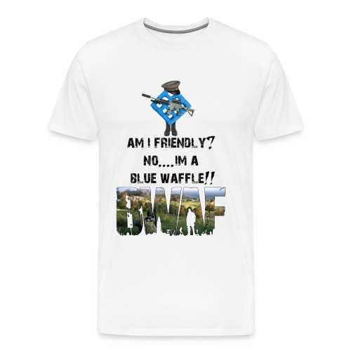 Am i friendly ? tshirt - Men's Premium T-Shirt