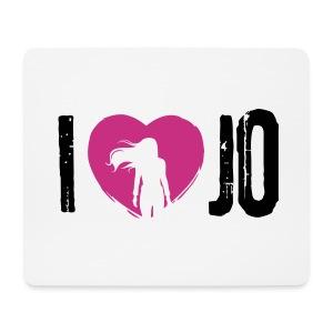I love Jo Mousepad - Mousepad (Querformat)