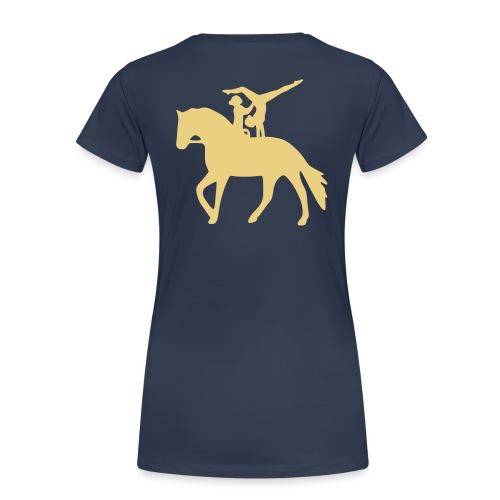 Doppelvoltigieren Handstand T-Shirts - Frauen Premium T-Shirt