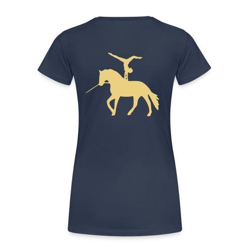Voltigieren Handstand rückwärts T-Shirts - Frauen Premium T-Shirt