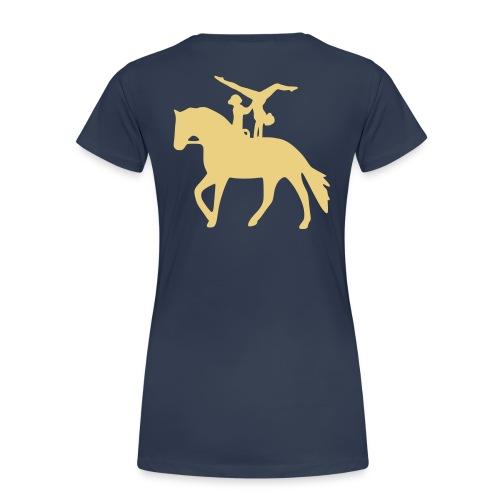 Doppelvoltigieren Handstand rückwärts T-Shirts - Frauen Premium T-Shirt