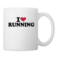 Tassen & Zubehör ~ Tasse ~ Coffee Mug: I love running