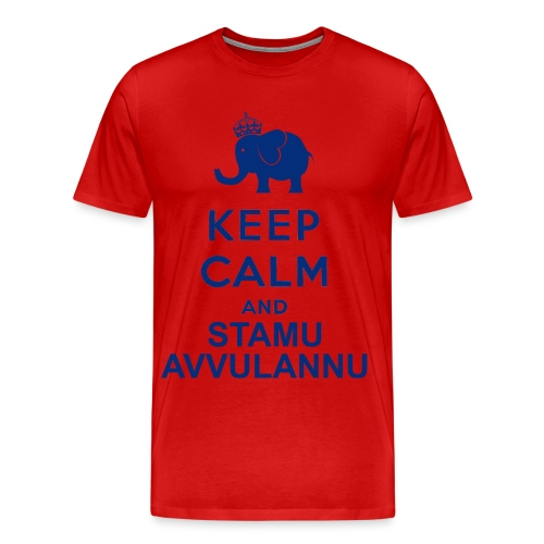 Keep calm and stamu avvulannu - Maglietta Premium da uomo