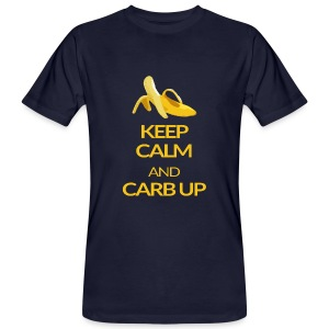 KEEP CALM and CARB UP boys - Männer Bio-T-Shirt