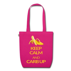 KEEP CALM and CARB UP bag - Bio-Stoffbeutel