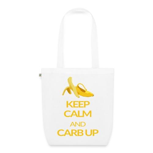 KEEP CALM and CARB UP bag - Bio-Stoffbeutel