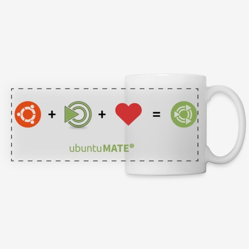 Ubuntu MATE Lurve Mug - Panoramic Mug