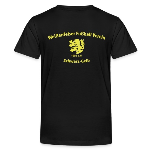 WFV Fan-Shirt für Teenager - Teenager Premium T-Shirt