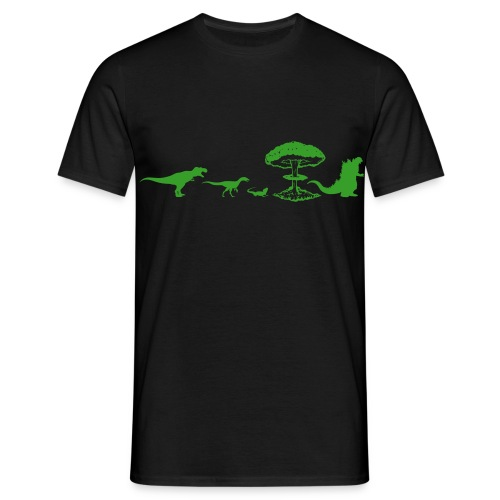 Godzilla Evolution - T-shirt Homme