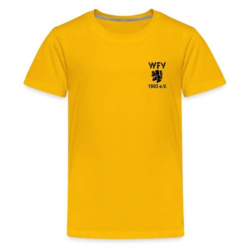 WFV Fan-Shirt für Teenager - Teenager Premium T-Shirt