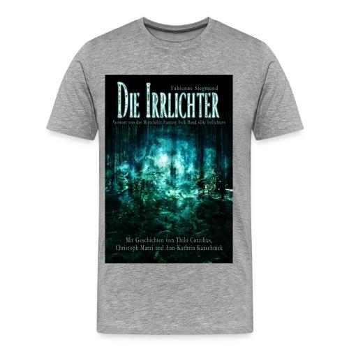 Irrlichter farbig  (T-Shirt Männer) - Männer Premium T-Shirt