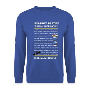 Sweatshirt: Beatbox Battle Countries - Men's Sweatshirt