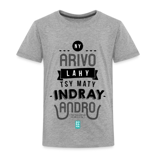 Ny Arivo Ankizy BlackInk - T-shirt Premium Enfant