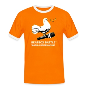 T-Shirt: Dove of Peace - Men's Ringer Shirt