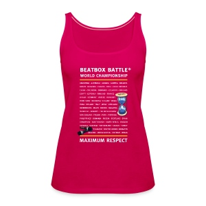 Women Tank Top: Beatbox Battle Countries - Women's Premium Tank Top