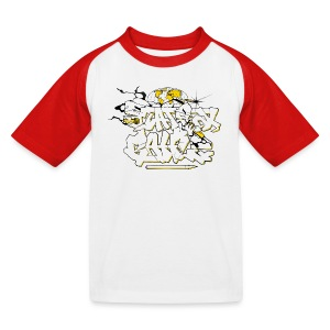 Kids Shirt: Graffiti - Kids' Baseball T-Shirt
