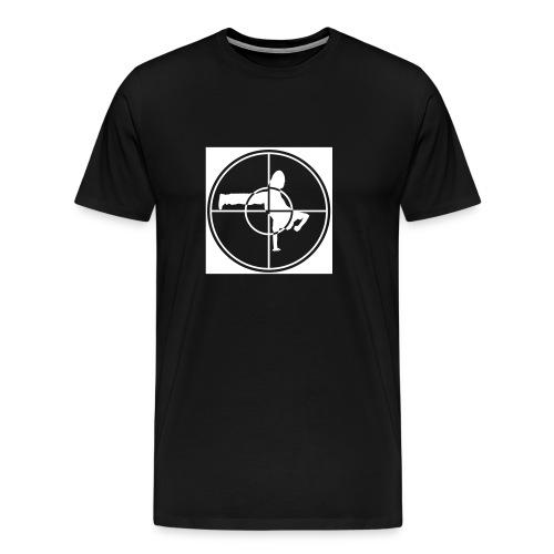 T-Shirt Homme PE Break Noir / Flex Blanc - T-shirt Premium Homme