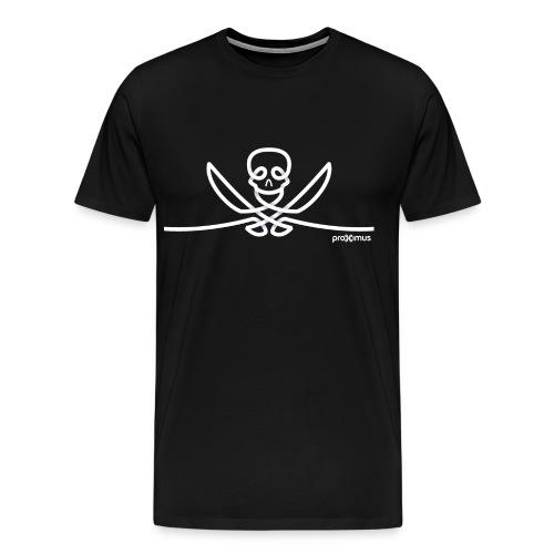 Skull Play&Gold - Man - T-shirt Premium Homme