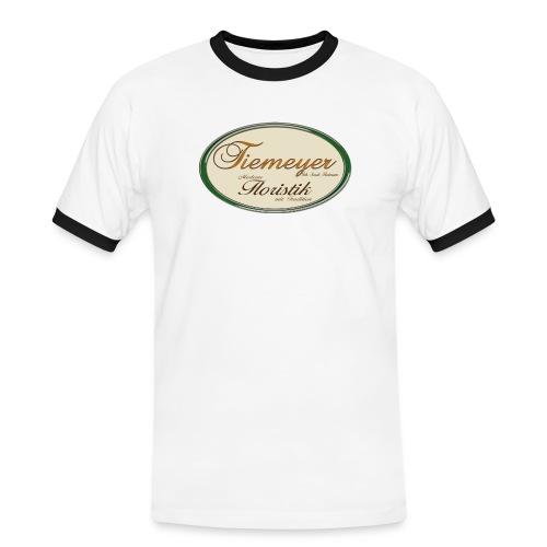 Floristik Tiemeyer - Männer Kontrast-T-Shirt
