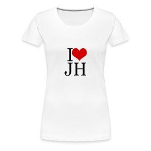 T-shirt femme I Love JH - T-shirt Premium Femme