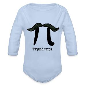 Trønderbaby (mest for jente, da) - Økologisk langermet baby-body