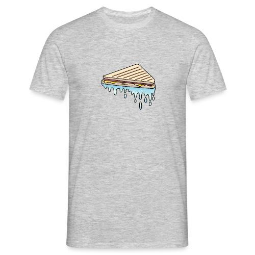 Natte Tosti mannen t-shirt - Mannen T-shirt