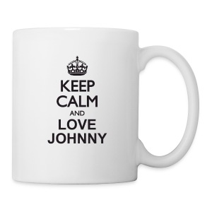 Keep calm and love Johnny - Tasse
