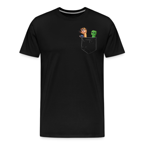 Rux Pocket - Men's Premium T-Shirt