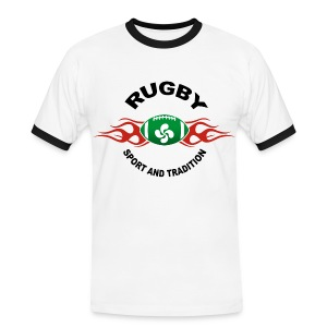 Basque Sport and Tradition - T-shirt contrasté Homme