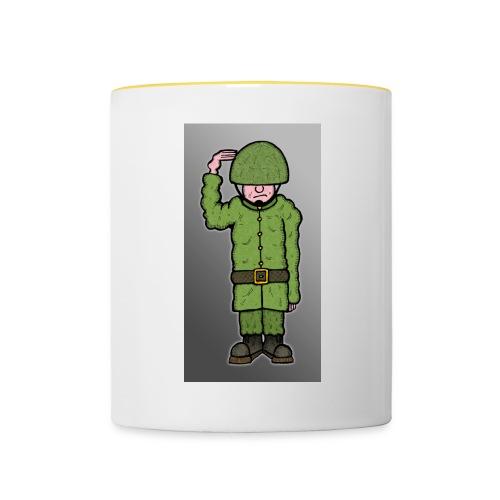 Coloured Soldier Mug - Contrasting Mug