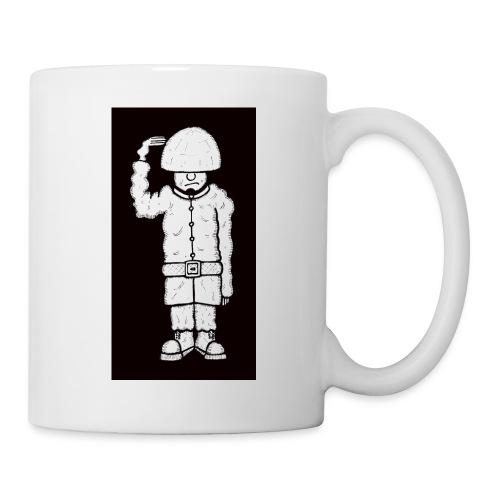 Black And White Soldier Mug - Mug