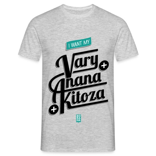 Kitoza Lahy blackInk - T-shirt Homme