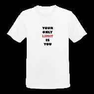 T-Shirts ~ Männer T-Shirt atmungsaktiv ~ T-Shirt: Your only limit is you