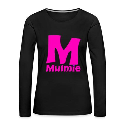 DAMES SHIRT MULMIE - Vrouwen Premium shirt met lange mouwen