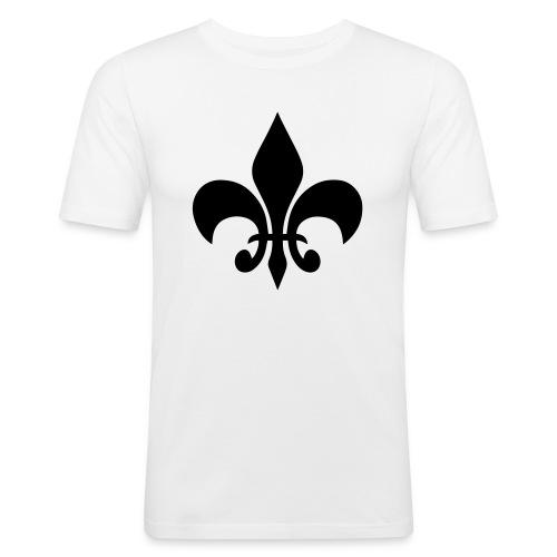 T-Shirt Black&White - Männer Slim Fit T-Shirt