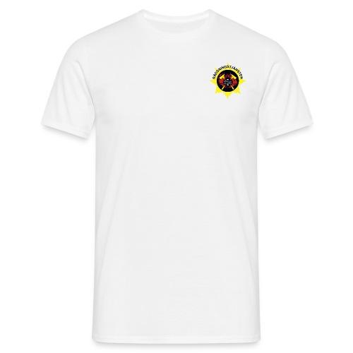 En för alla - Vit - T-shirt herr