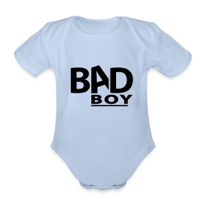 Bad Boy - Baby Bio-Kurzarm-Body