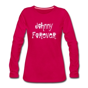 T-shirt manches longues femme Johnny Forever - T-shirt manches longues Premium Femme