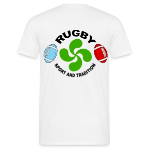 Rugby - Basque sport and tradition - T-shirt Homme