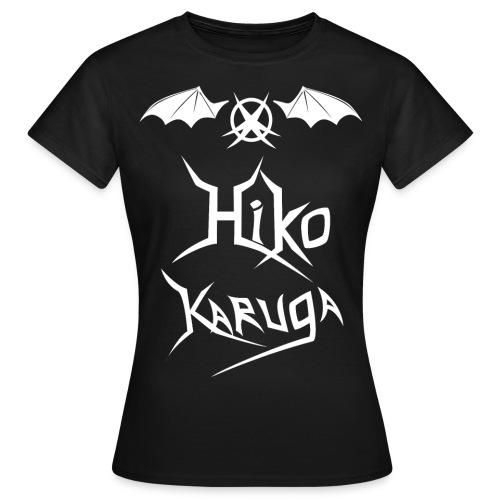 T-shirt logo Hiko Karuga ailé Femme - T-shirt Femme