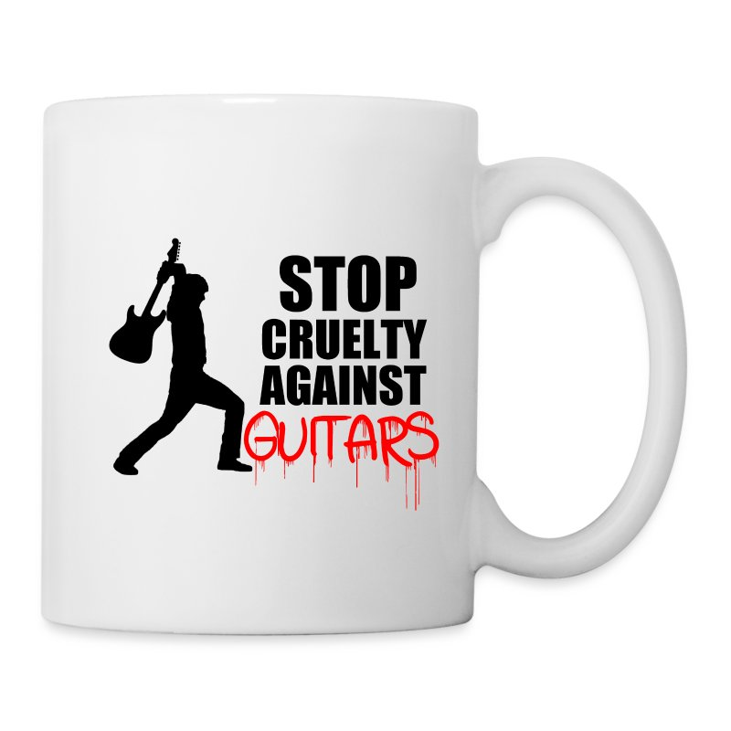Stop Cruelty Against Guitars - Mug