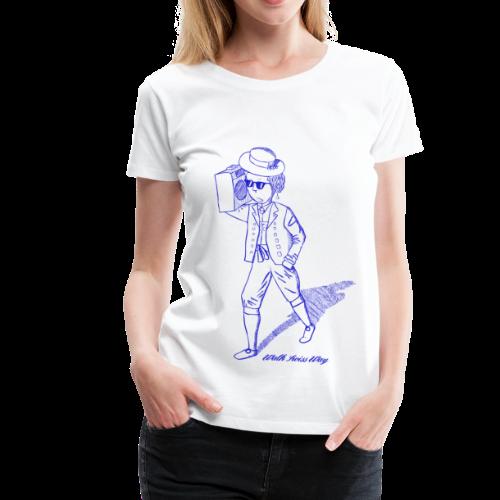 Walk Swiss Way SE  - Women's Premium T-Shirt
