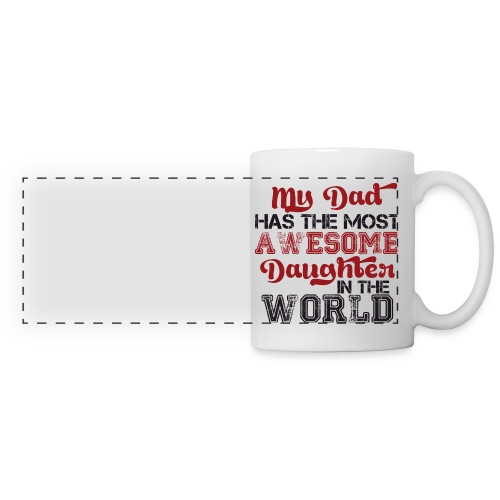 best dad ever cup - Panoramic Mug