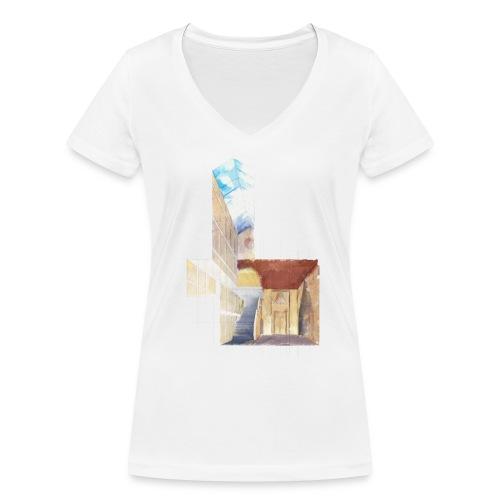 Geometric - Frauen Bio-T-Shirt mit V-Ausschnitt von Stanley & Stella